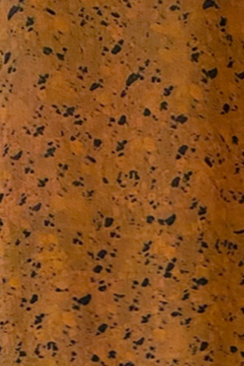 Rust Terrazzo Print Close-up