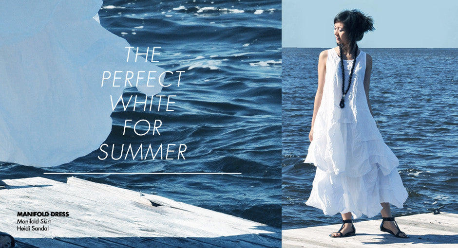 Lookbook: The Perfect White For Summer