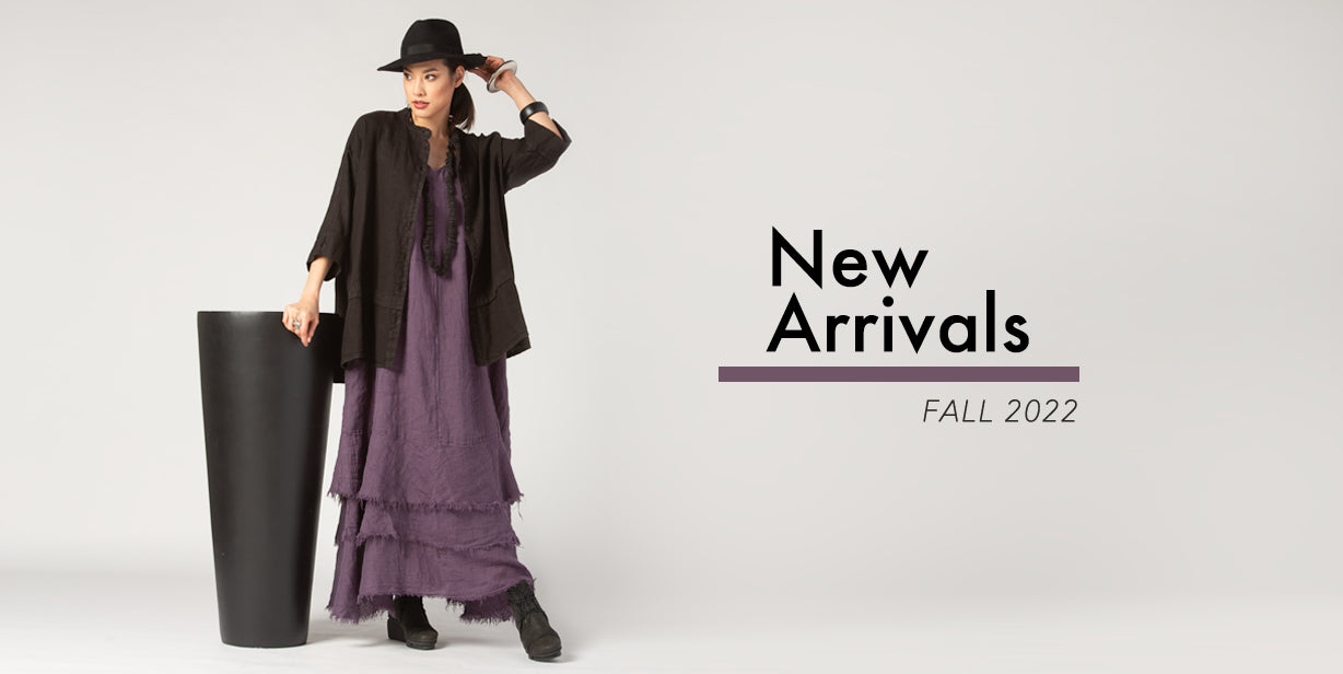 Black & Natural Linen Sale