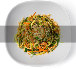 SpaJuiceBar Zucchini Noodle Vegetable Salad