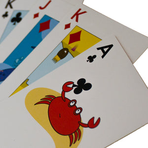 Beach Cards: Waterproof Family Playing Cards