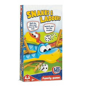Snakes & Ladders - Magnetic Travel Game