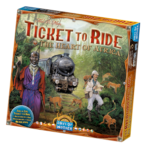 Ticket to Ride - The Heart of Africa (Map Collection 3)