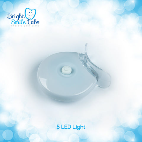 5 LED Teeth Whitening Light with Mouth Tray