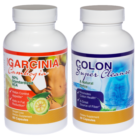 Garcinia Cambogia / Colon Super Cleanse Combo Pack