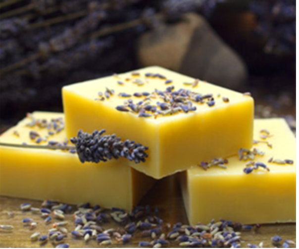 Maine-Made Organic Lavender Soap