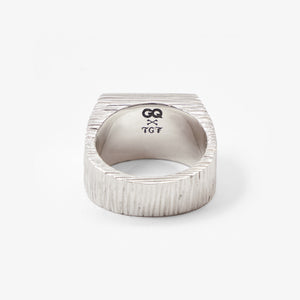 GQ x The Great Frog Square Signet Ring