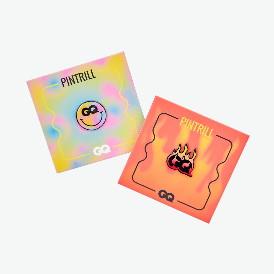 GQ x Pintrill Pin Set