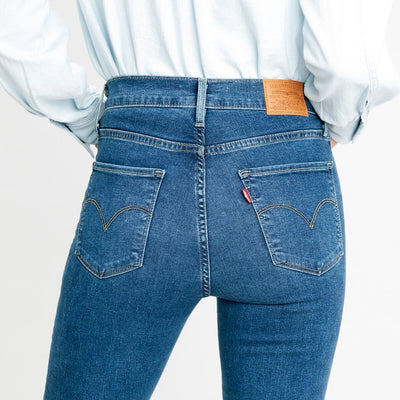 Levi's High Rise Straight