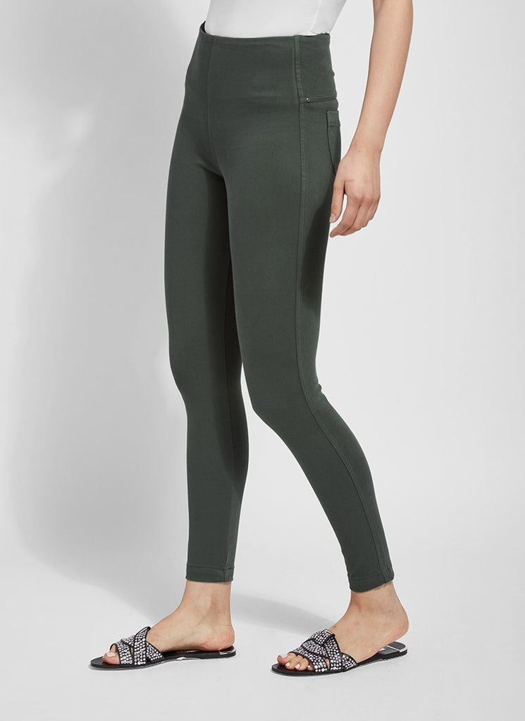 Lysse Toothpick Legging (Hunter)