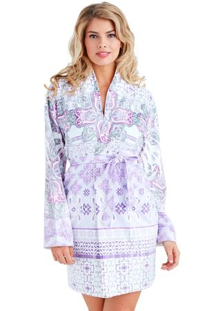 Wrap Up Nirvana Purple Short Robe