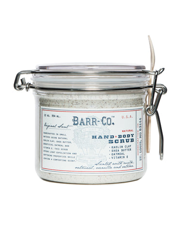 Barr-Co. Clay Body Scrub