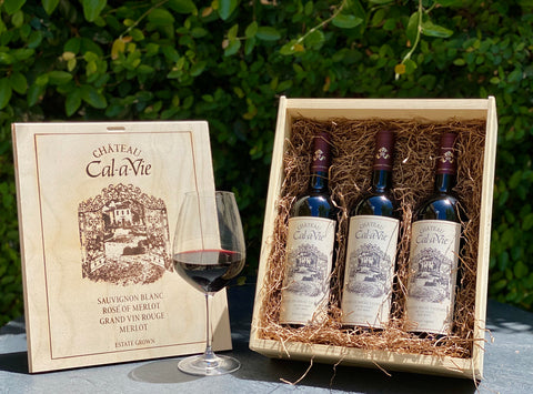 Chateau Cal-a-Vie Winter Red Tasting Trio