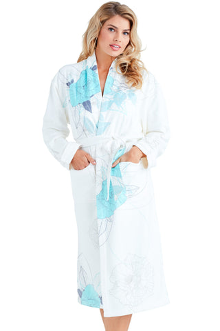 Wrap Up Chanel Blue Long Robe