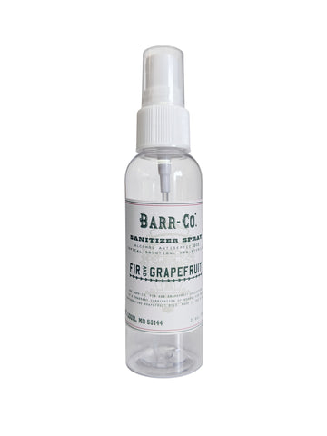 Barr-Co. Fir & Grapefruit Hand Sanitizer