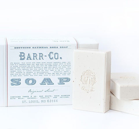 Barr-Co. 3 Piece Soap Set