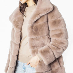 Generation Love Tylia Faux Fur Jacket