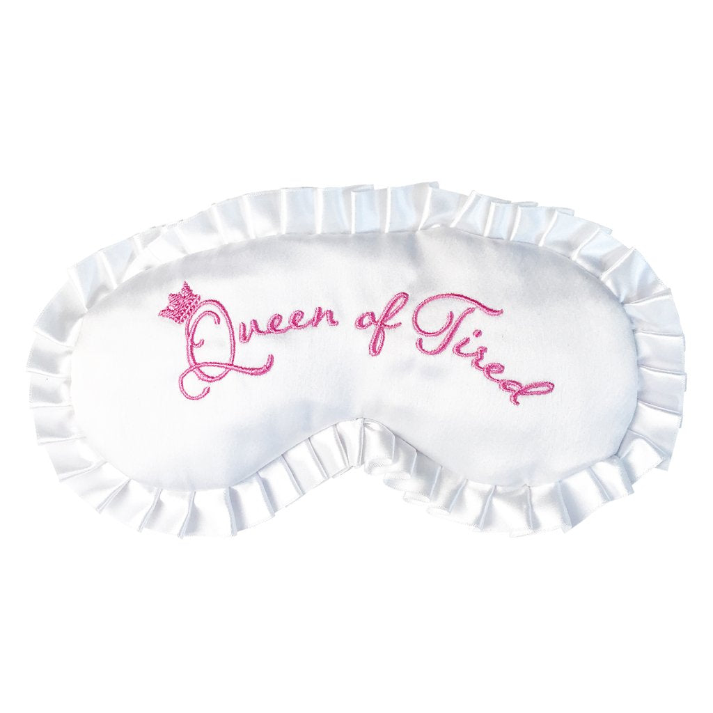 """Queen of Tired"" Eye Mask"