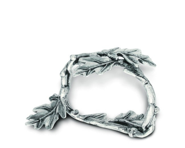 Vagabond House Oak Leaf Napkin Ring