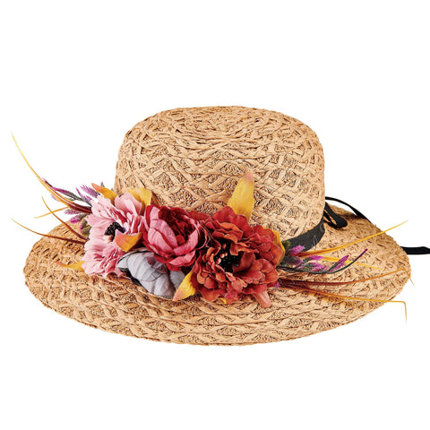 Flower Garland Hat