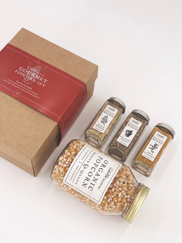 Cal-a-Vie Popcorn & Seasoning Gift Set
