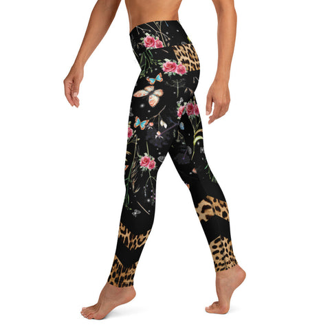 For the Love of Rockstars Romantic Leopard Tight