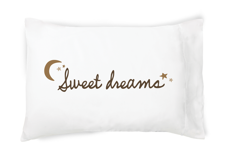 Sweet Dreams Single Pillowcase