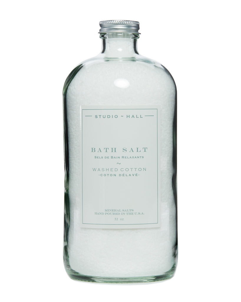 Washed Cotton Bath Soak