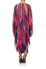 Camilla Sunray Pleated Kaftan