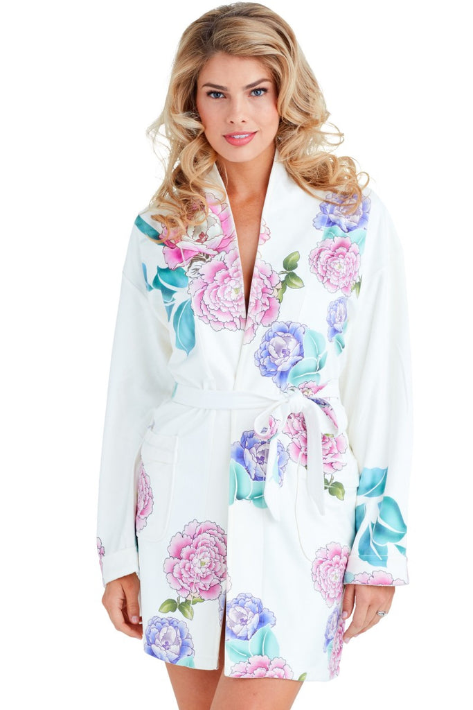 Wrap Up Good Fortune Short Robe