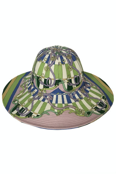 "Rani Arabella Printed Hat ""Firenze"""