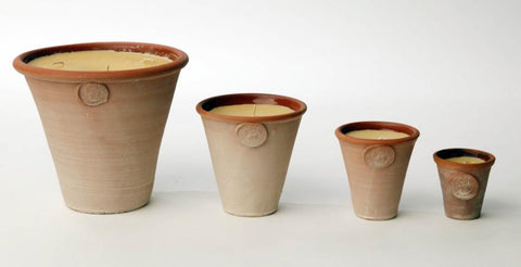 Coldpiece Pottery Flowerpot Candles