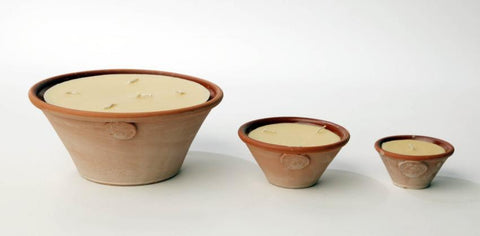 Coldpiece Pottery Bowl Candles