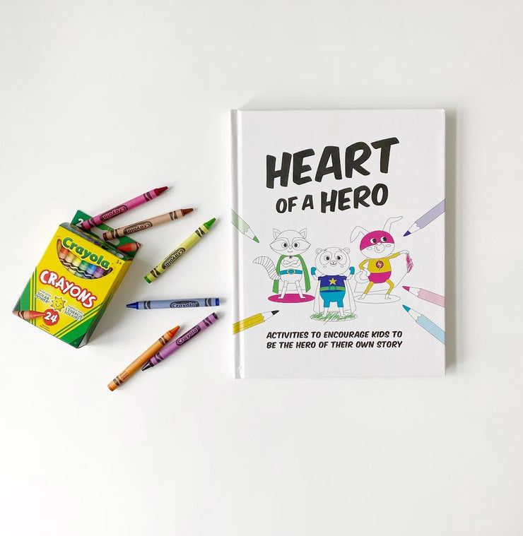 Thoughtfull Bundle for One - Heart of a Hero Journal