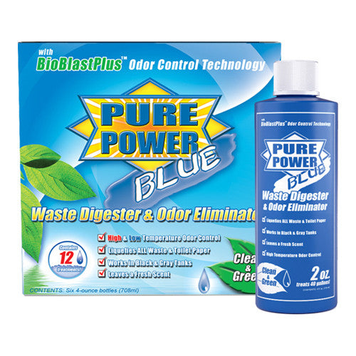 Pure Power Blue - 4 oz. 6-pack