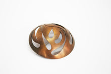 Load image into Gallery viewer, Happiness brooch copper