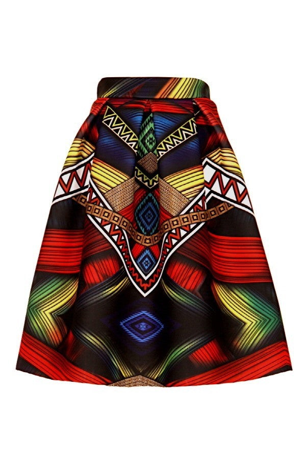 Tribal Chic Skirt