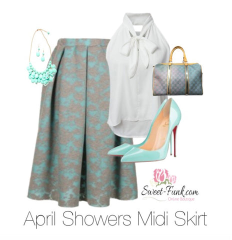April Showers Curvy Skirt