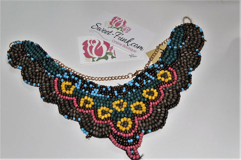 Saratoga Bib (Necklace)