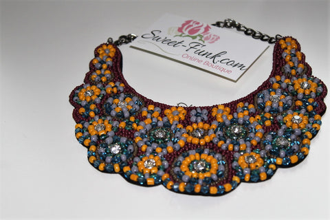 Lee Circle Bib (Necklace)