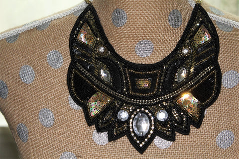 Who Dat Bib (Necklace)