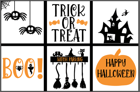 Halloween Window Clings for the classroom