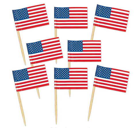 Fourth of July Toothpicks