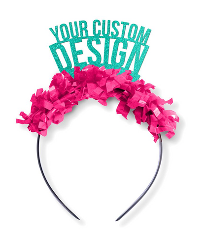 Customizable party favors and customizable party accessories