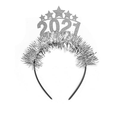 2021 with Stars NYE Party Crown