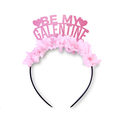 Be My Galentine Party Crown