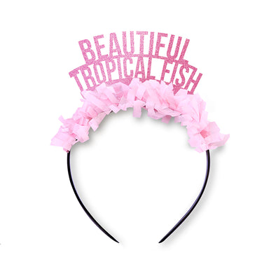 Beautiful Tropical Fish Galentines Party Crown