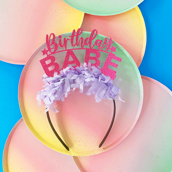 Birthday Babe Party Crown