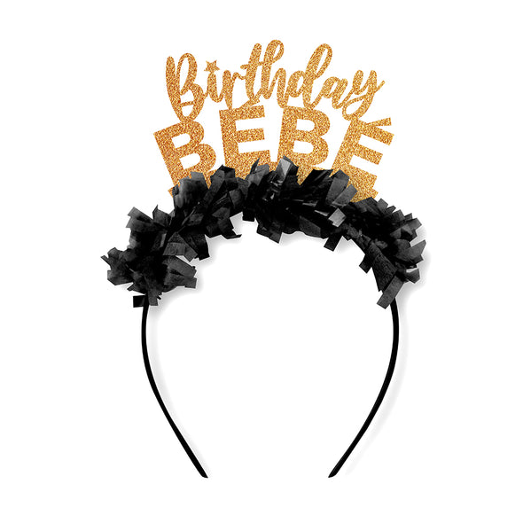 Birthday Bebe Crown