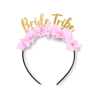 Bride Tribe Script Party Crown